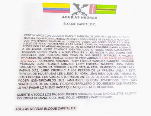 ¡LOS COBARDES OCULTOS AMENAZAN DE NUEVO!