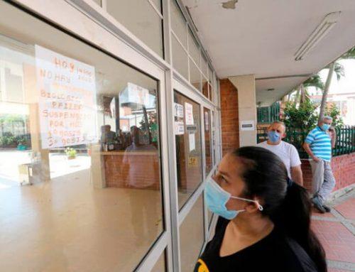 Población priorizada se quedó sin vacuna por falta de dosis